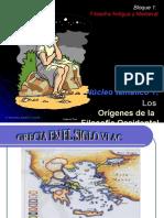Historia Filosofia Presocraticos PRESENTACION