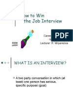 Lecture 5 Job Interview
