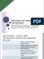 Media Ownership Revision