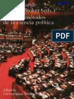 Marsh, David & Stoker, Gerry - Teoría y métodos de la ciencia política.pdf