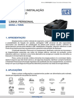 WEG Manual Nobreak Personal 0502101 Manual Portugues Br