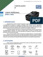 WEG Manual Nobreak Personal 0502101 Manual Portugues Br