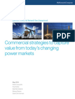 Commercial Strategies for Power Markets