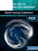El Inicio de La Filosofia Occidental - HansGeorg Gadamer -w Lectulandia Com
