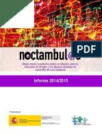 Informe Noctambul@s 2014 2015