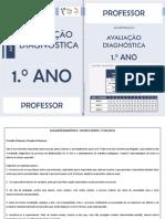 Avaliacao Diagnostica Professor 1ano 2015