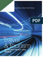Impacto Del Turismo en La Economia Mundial 2015