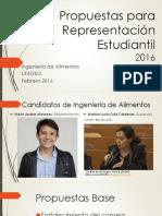 Propuestas PIA 2016 - Presentación Debate