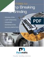 Lump Breaking & Grinding Palamatic Process