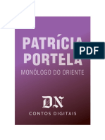 Monólogo Do Oriente - Patrícia Portela