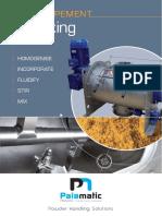 Mixing Equipment Palamatic Process
