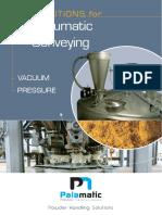 Pneumatic Conveying Solutions Palamatic Process