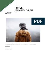 Amt Semester Project