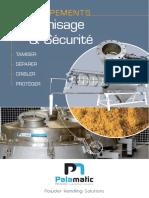 Tamisage et Sécurité Palamatic Process