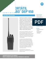Mot Mtrbo Dep450 Product Spec Sheet Es 072413