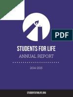 SFLA 2014-2015 Annual Report