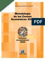 Censos económicos Metodologia