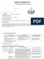Proyecto de Aprendizaje Nº 1-Marzo 2014