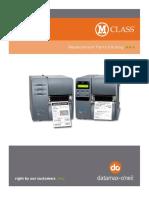 M-Class Parts Catalog 92-2505-01 E