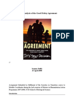 Critical Analysis of the Good Friday Agreement  2