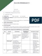 Modulo de Aprendizaje Nº 1 Abril 2014