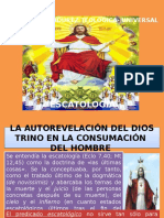Examen de Madurez Teológica- Universal-escatología
