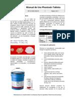 Manual de Aplicacion Insecticida Phostoxin Tableta