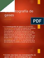 Cromatografía de Gases ppt uptlax