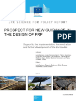 JRC Report Prospect for New Guidance in the Design of FRP