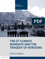 The G7 Climate Mandate and the Tragedy of Horizons