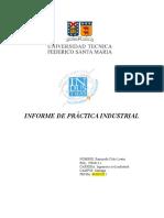 Informe de Práctica Industrial Santander