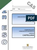 Evaluación diagnóstico_Competencia lingüística_Baleares 2º ESO_2009