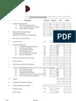 Fried chicken Legal Checklist