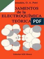 Fundamentos de La Electroquimica Teorica Archivo1