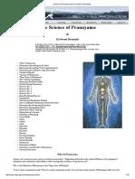 Science of Pranayama (by Sri Swami Sivananda)