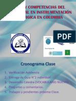 Perfil y Competencias Del Profesional en Instrumentación Quirúrgica Iq