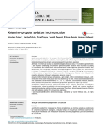 Ketamine and Propdfofol in Circumsicion
