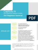 Ley ISR Capitulo IV del Regimen General