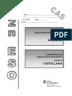 Evaluación diagnóstica_Competencia lingüística_Modelo2 Baleares_2009