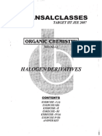Halogen DerivativesOrganic Chem Class XII