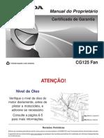 Manual CG 125 Fan 2007