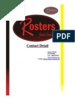 Rosters Franchise Presentation