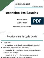 processus de définition des bespoins