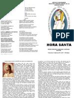 Hora Santa ADORACIÓN, Año de La Misericordia