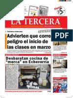 Diario La Tercera 23 02 2016