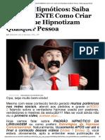 Padrões Hipnóticos_ Saiba EXATAMENTE Como Criar Frases Que Hipnotizam Qualquer Pessoa