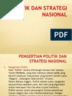 Politik Dan Strategi Nasional Pkn Kelompok 3