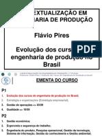 3 Evolucao Dos Cursos de Engenharia de Produçao No Brasil