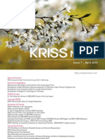 KRISS News-Issue 7 (April)