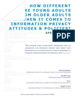 How Different Are Young Adults From Older Adults When It Comes to Information Privacy Attitudes and Policies
